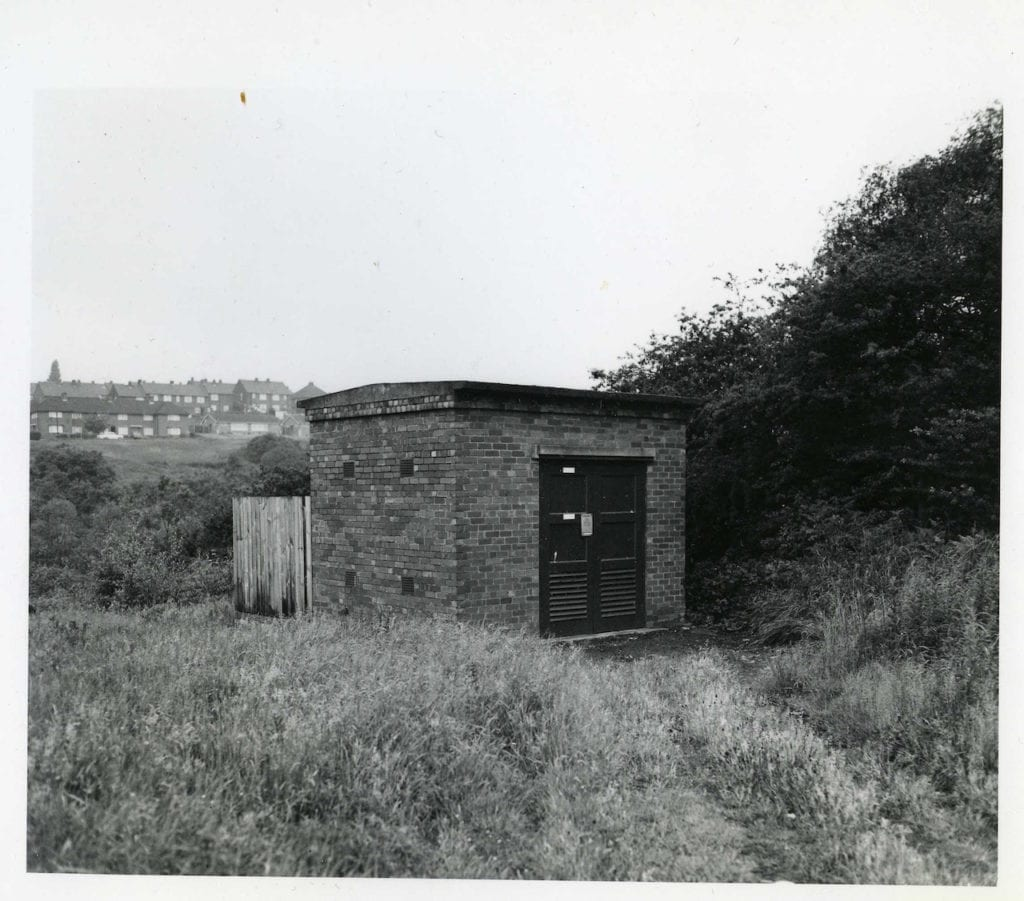 Saltbrook Road, Substation, No 11242, 1974 © John Myers