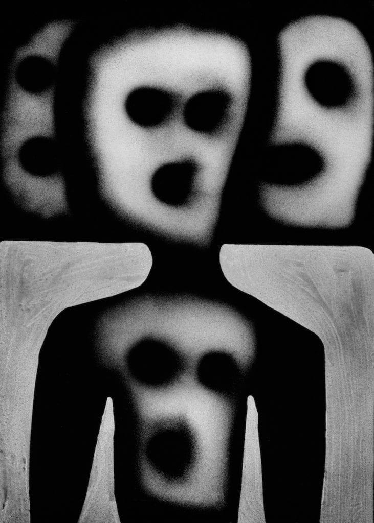 Haunted, 2012, Roger Ballen, courtesy of Hamiltons