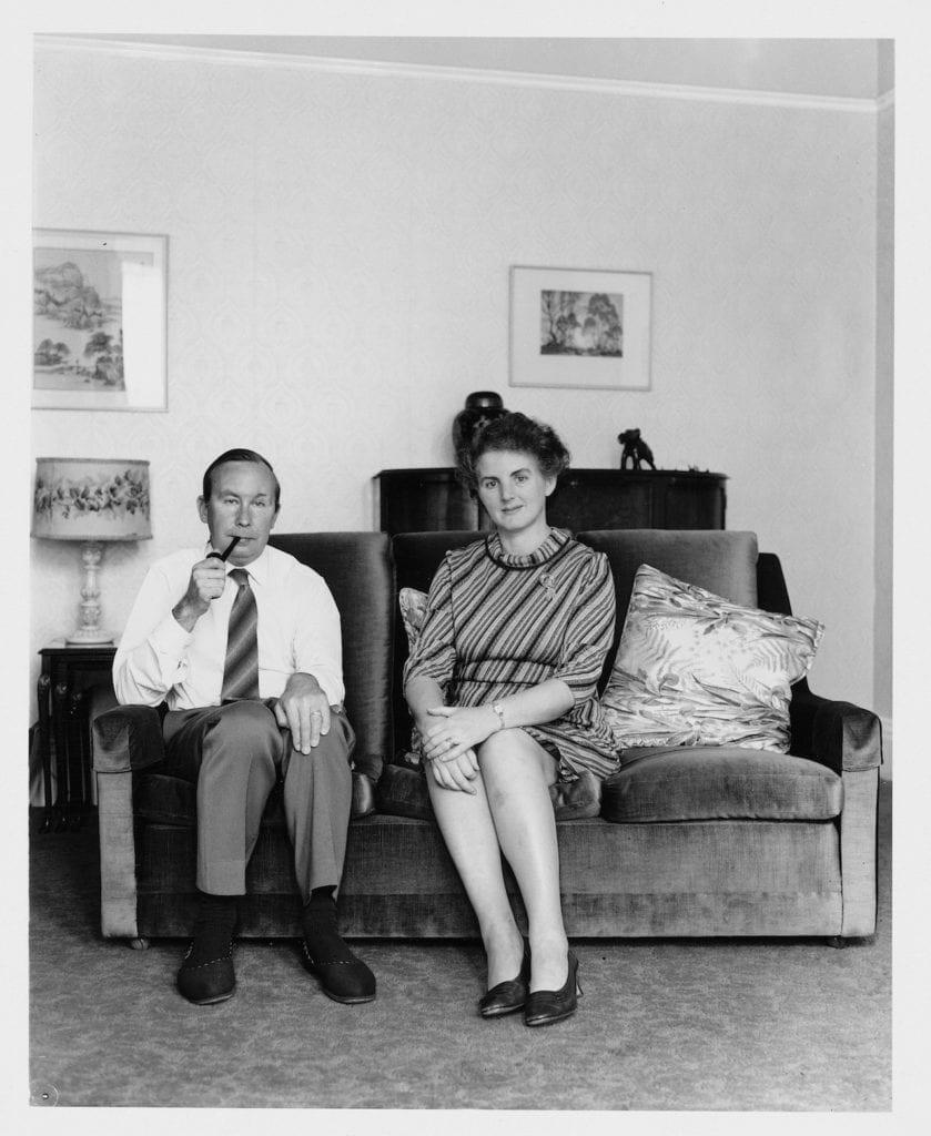 Mr & Mrs Seaborne, 1973 © John Myers
