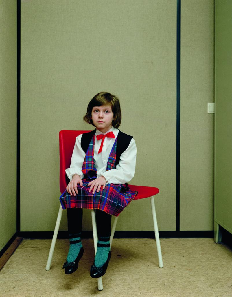 Almerisa, Asylumseekerscenter Leiden, March 14, 1994 © Rineke Dijkstra