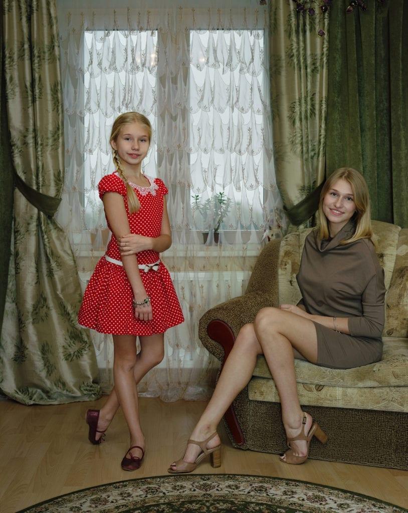 Marianna And Sasha, Kingisepp, Russia, November 2, 2014 © Rineke Dijkstra