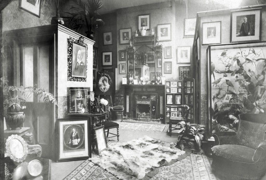 Winter's first-class waiting room, 1906 © WW Winter Ltd