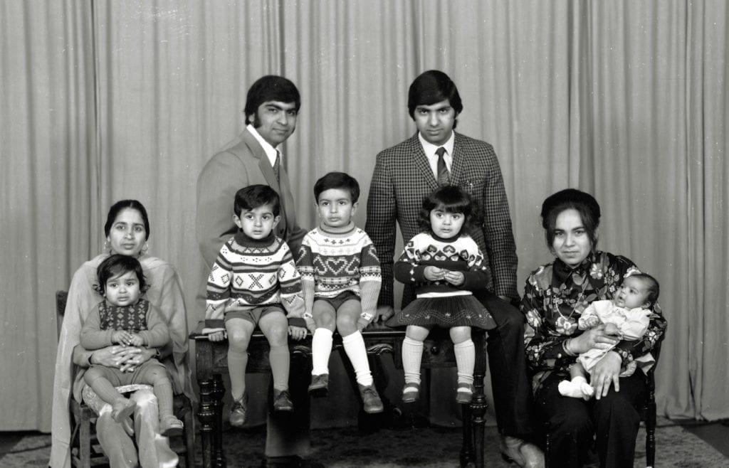 Studio portrait of a family © WW Winter Ltd