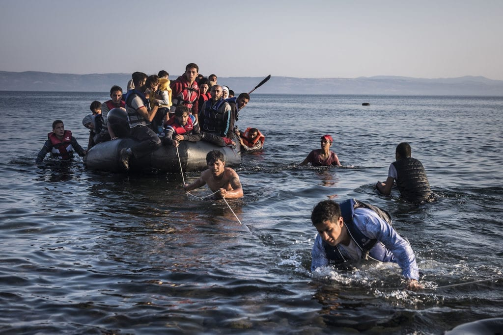 Lesbos, Greece, 27 July 2015 © Sergey Ponomarev for the New York Times, courtesy of the artist
