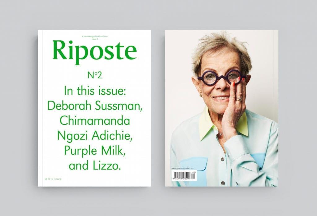 Deborah Susan, Riposte issue 2, 2014 © Jiro Schneider