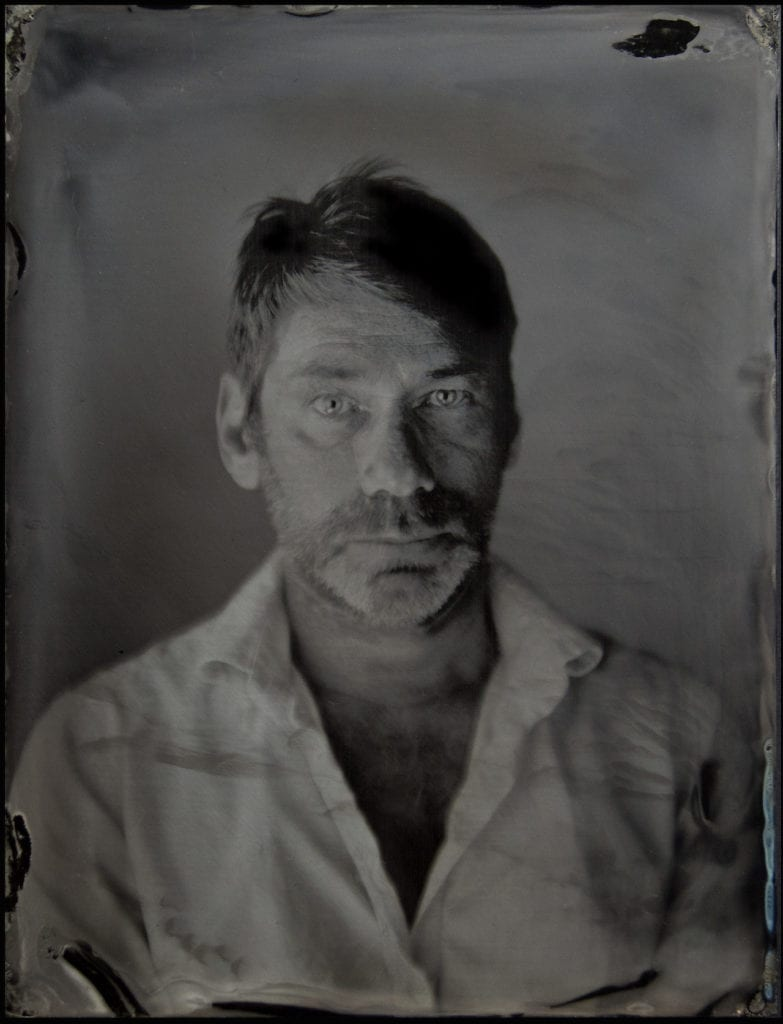 Wet collodion print © Mat Collishaw, courtesy the artist and Blain Southern