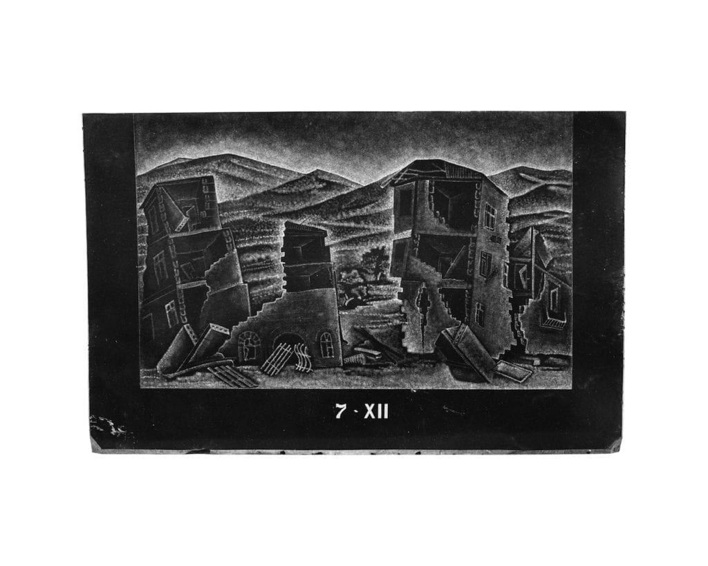 Image of a gravestone in Spitak's graveyard, 11.41 @ Michal Luczak, courtesy of the artist