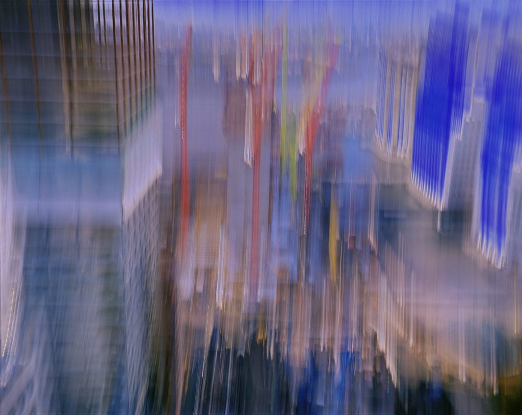 Descent HQ 1/4 sec, 2002. Catherine Yass. © Catherine Yass. All Rights Reserved, DACS 2017. Image courtesy Alison Jacques Gallery.