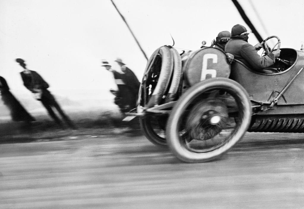Grand Prix de l'ACF, Automobile Delage, Circuit de Dieppe, 26 juin 1912 © Ministère de la Culture - France / AAJHL © Jacques - Henri Lartigue