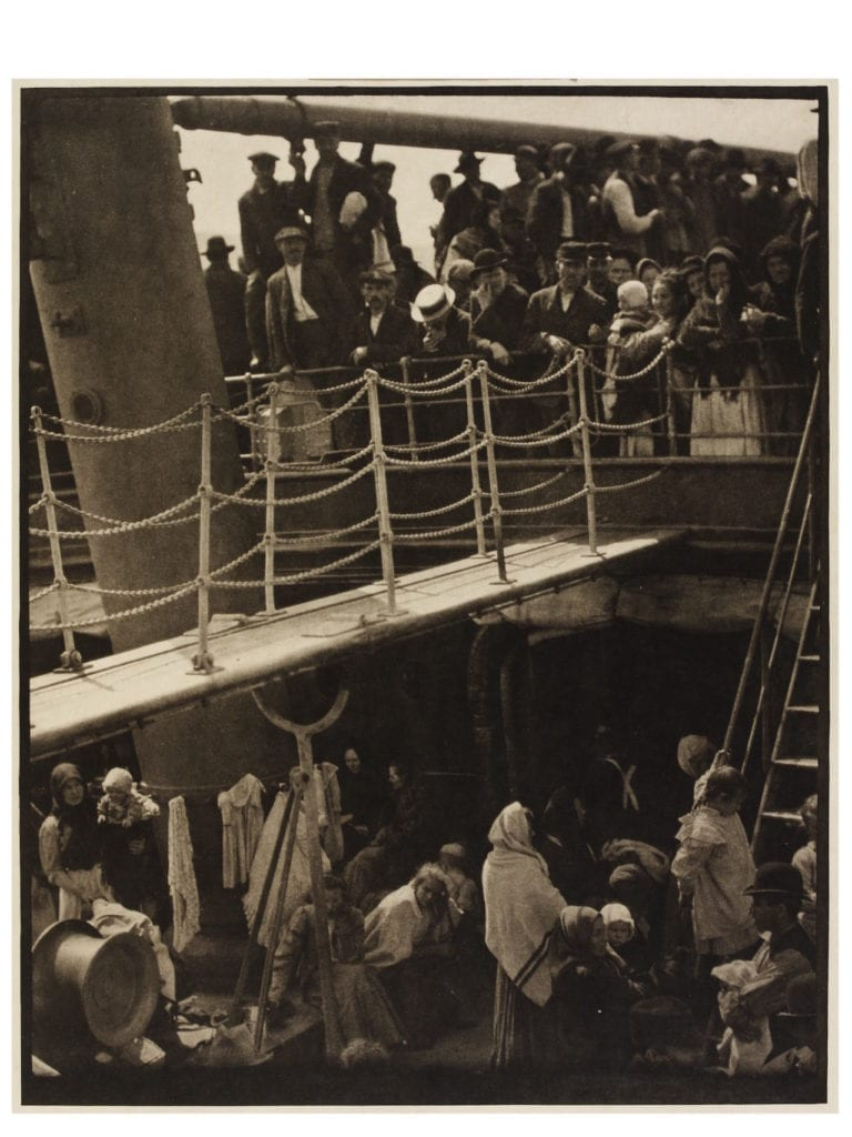 The Steerage, 1907 (print 1915) by Alfred Stieglitz. Photogravure © Victoria and Albert Museum, London; Gift of the Georgia O'Keefe Foundation