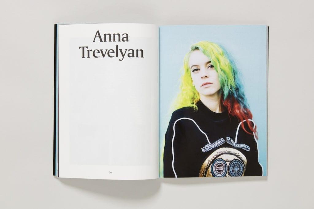 Anna Trevelyan, issue 3, image © Francesca Allen