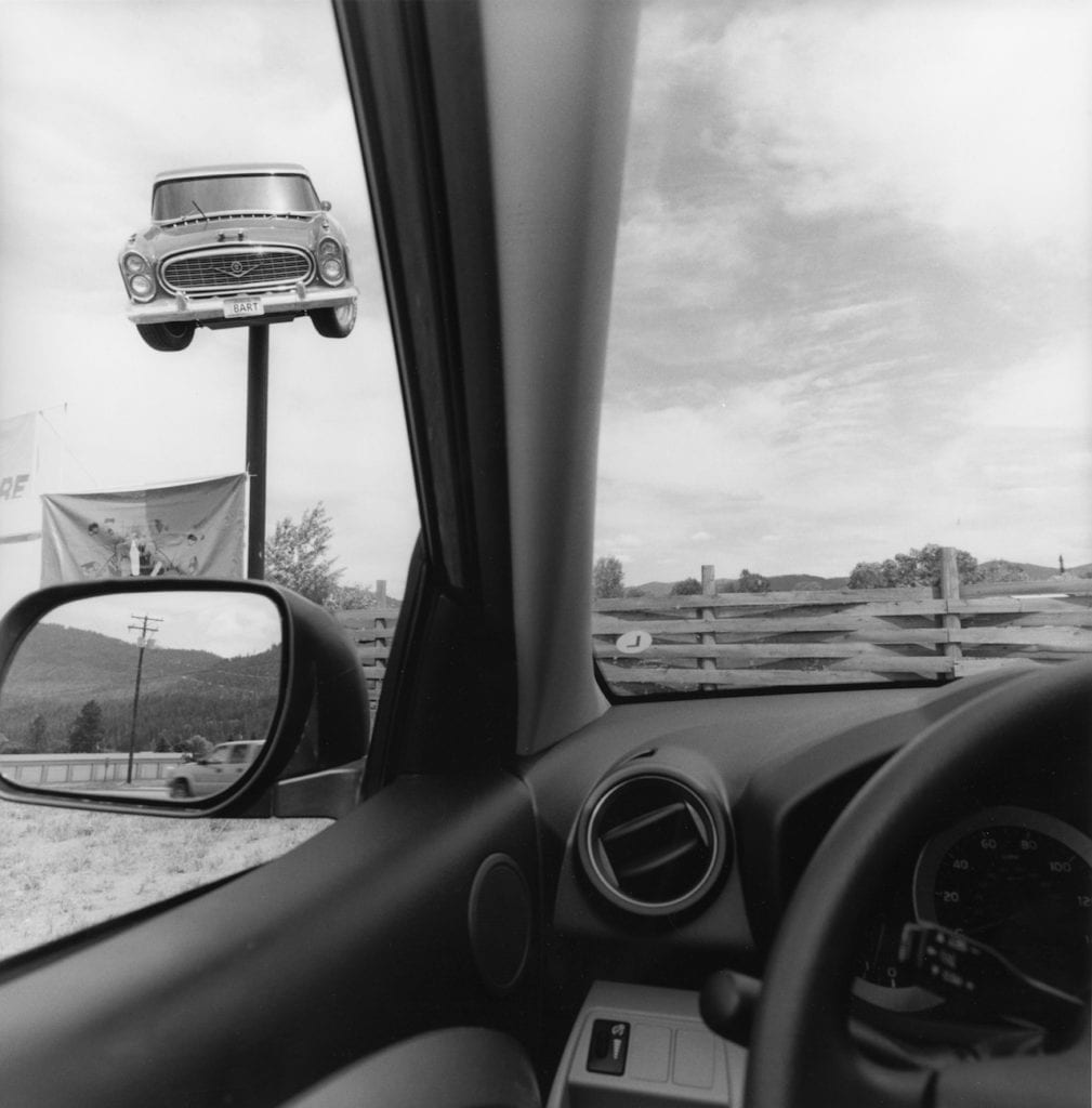 Montana, from the series 'America by Car' , 2008 © Lee Friedlander, courtesy Fraenkel Gallery