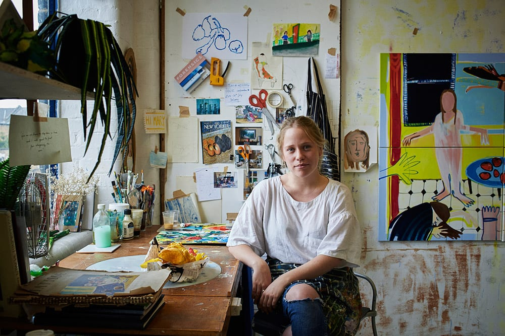 Mary Stephenson from the book Hackney Studios © Jenny Lewis