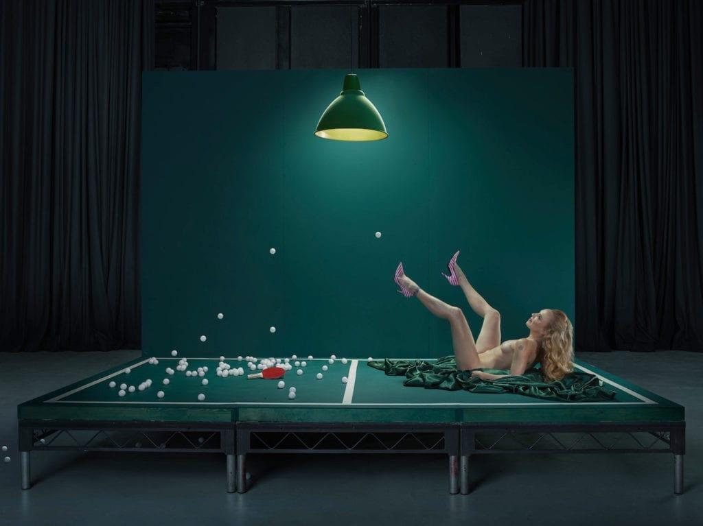 The Act, Mouse, Ping Pong Girl, 2017 @ Julia Fullerton-Batten, courtesy of the artist