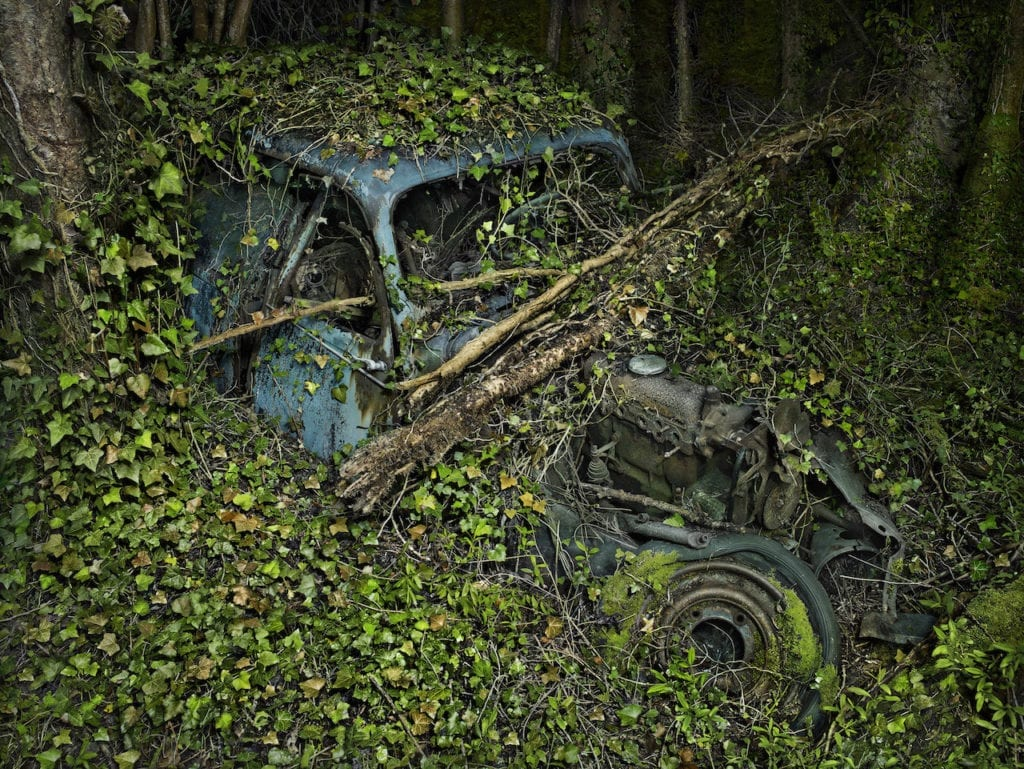 Traction Citroën 7, from the series 'Paradise Parking' © Peter Lippmann