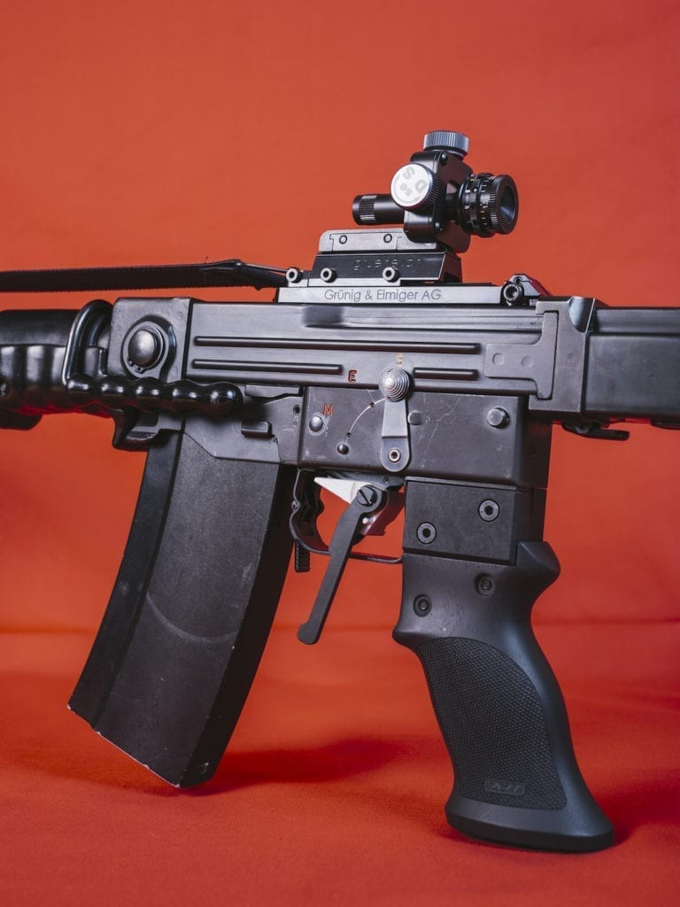 A customised assault rifle transformed for sport purposes, from the series 'How to secure a country' © Salvatore Vitale