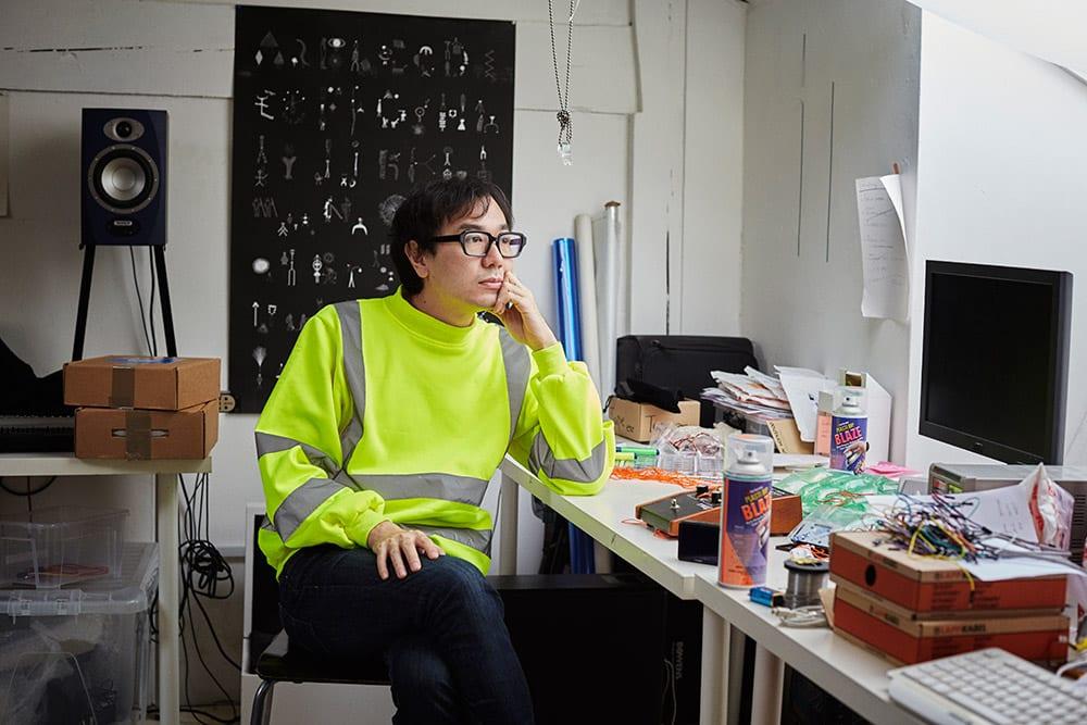 Yuri Suzuki from the book Hackney Studio © Jenny Lewis