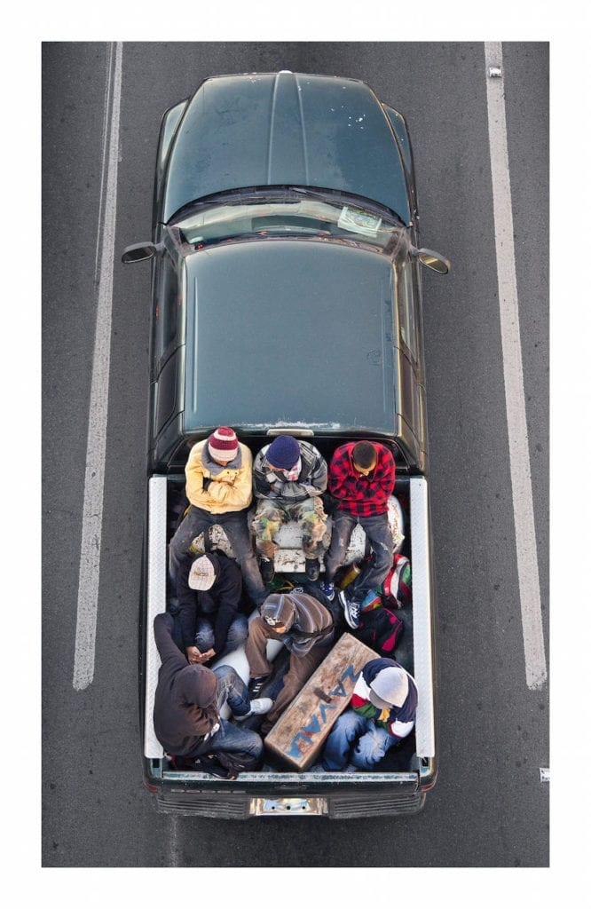 Car Poolers # 12 The Carpoolers series, 2011-2012 © Alejandro Cartagena