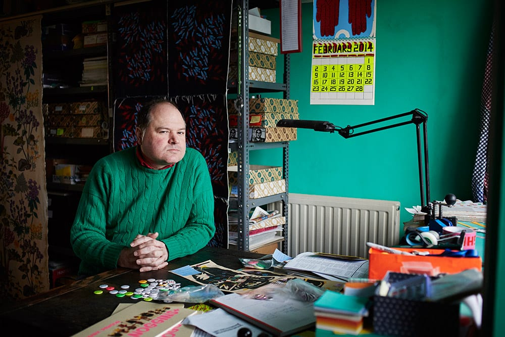 Mark Pawson from the book Hackney Studio © Jenny Lewis