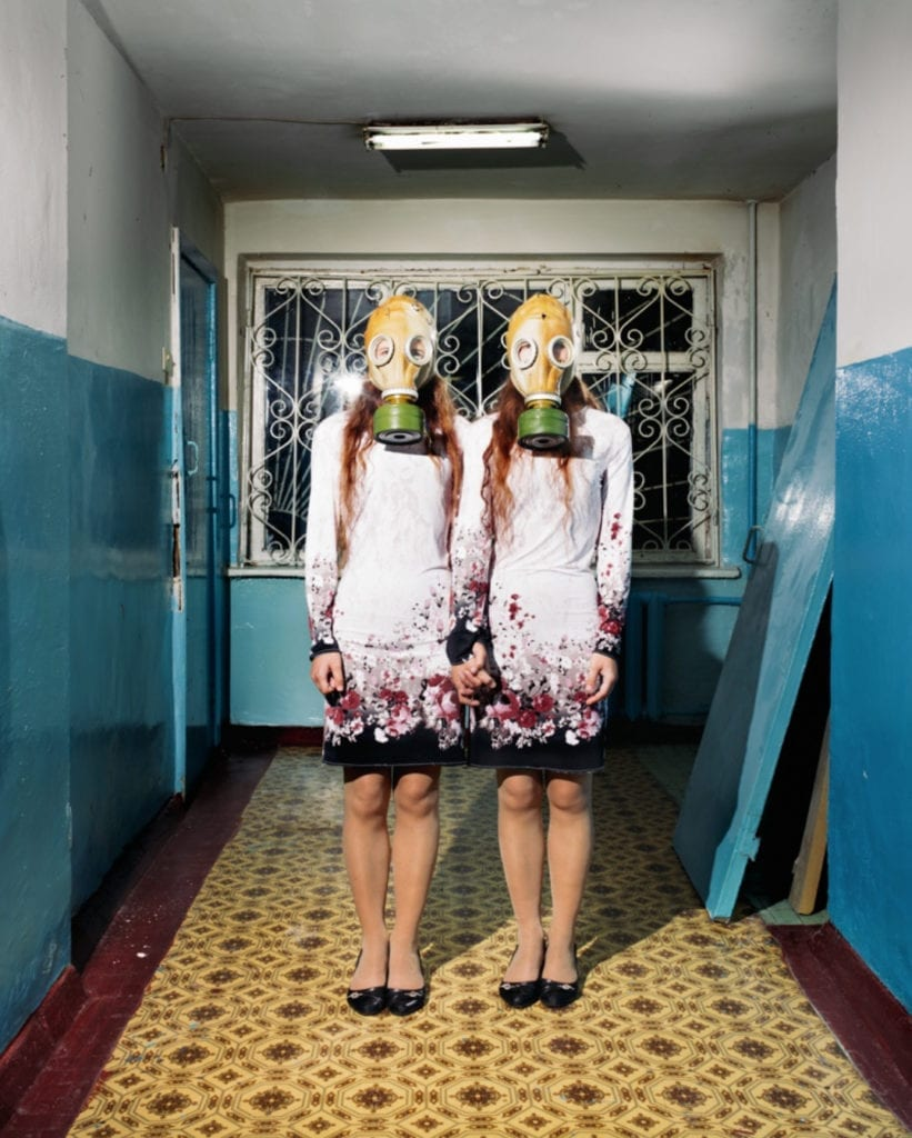 Image from the series Let Us Not Fall Asleep While Walking © David Denil, which won an