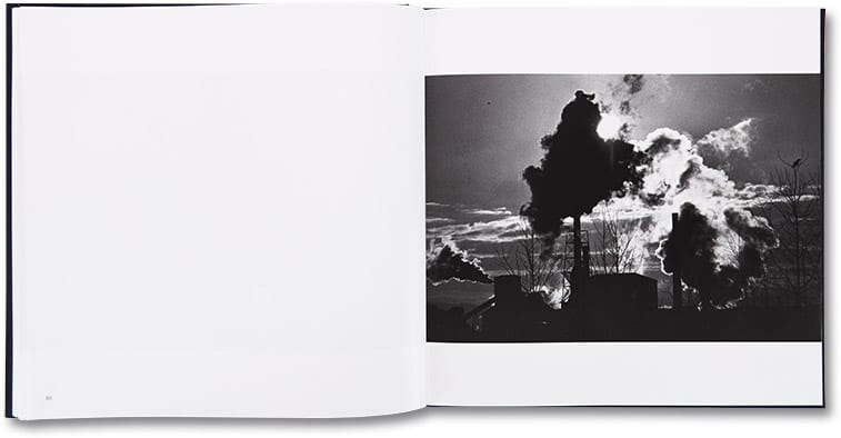 Shot showing a spread from the new edition of Ravens by Masahisa Fukase, published by MACK, 2017. Image courtesy of MACK.