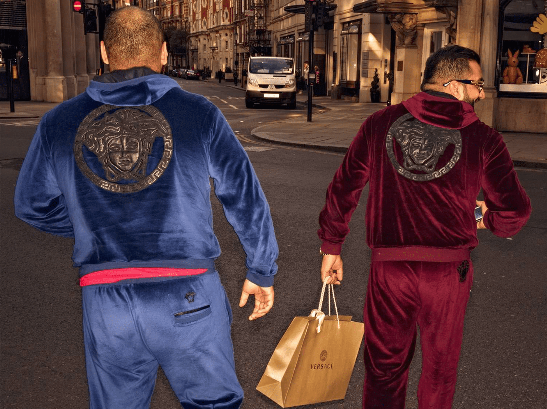 From £1000 Versace tracksuits to yapping handbag pooches: a