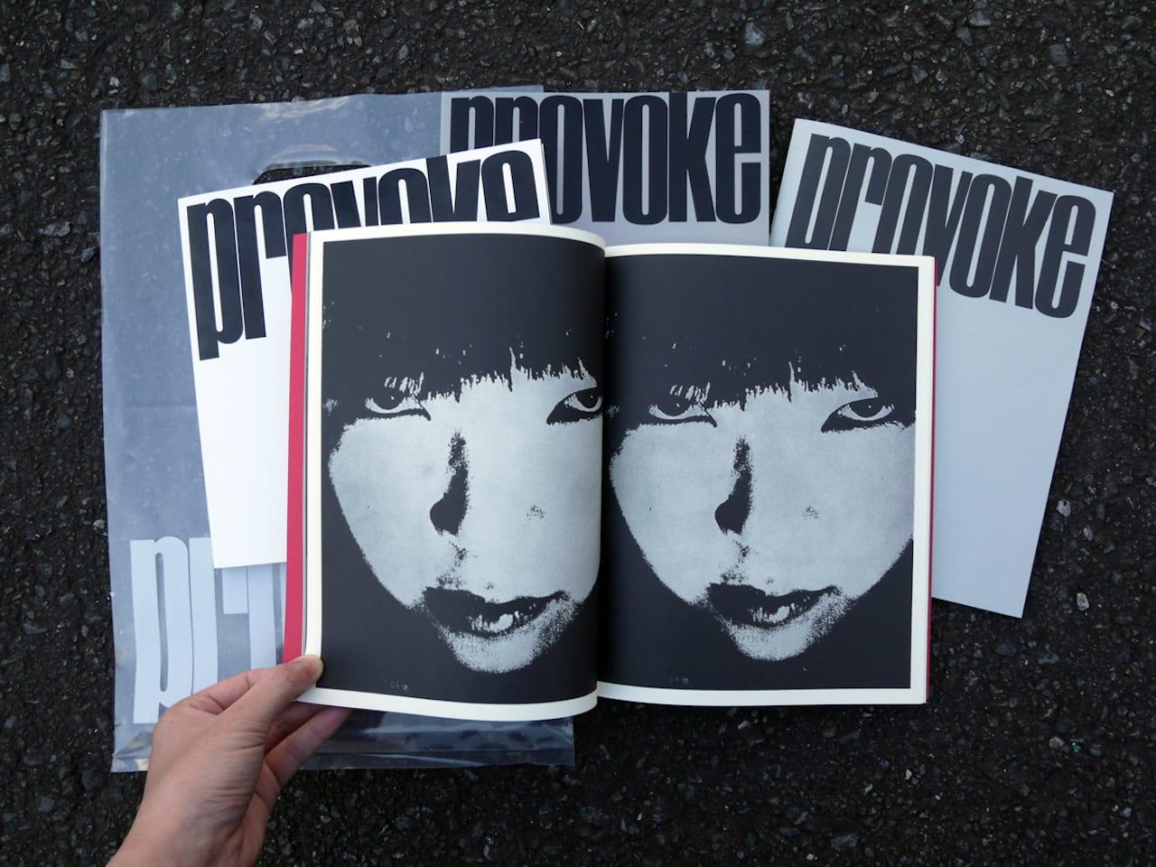 50 years since provoke reprinting the radical japanese photo magazine