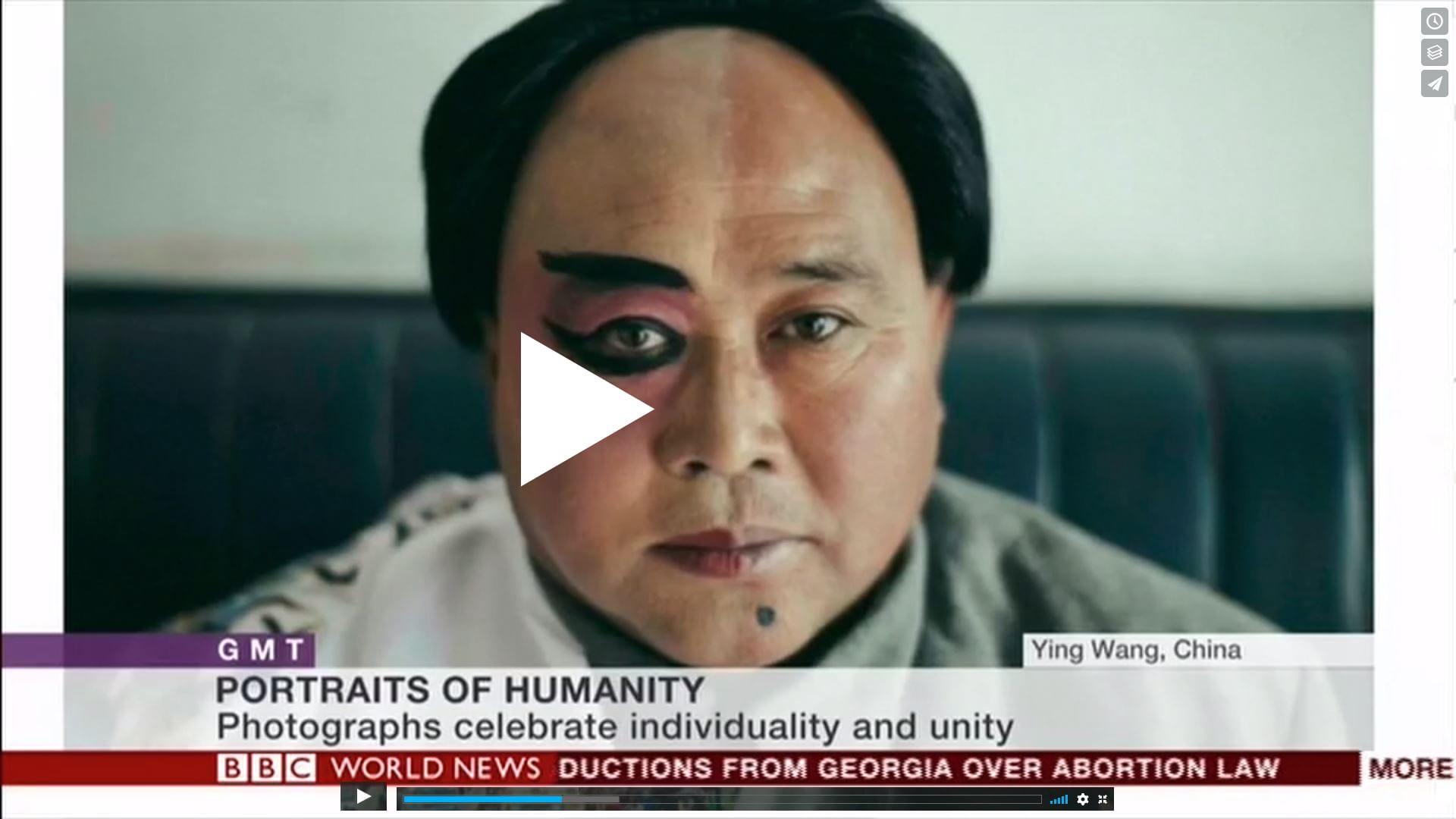 Watch Portrait of Humanity on BBC World News – British