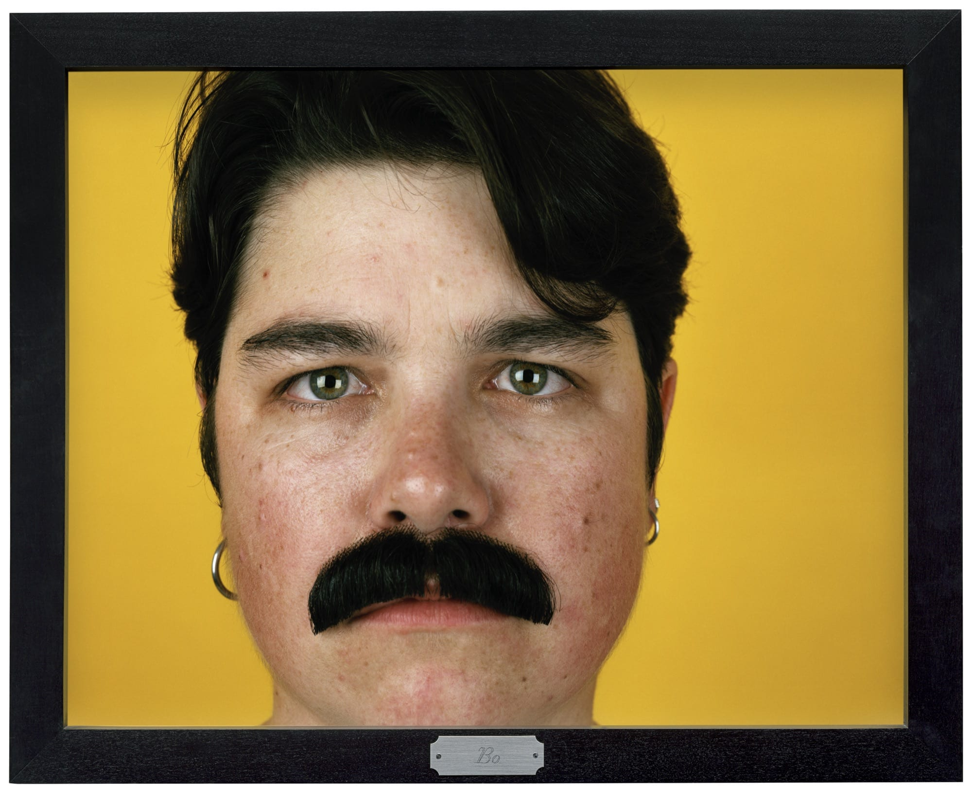 """Bo from """"Being and Having"""", 1991 Collection of Gregory R. Miller and Michael Wiener © Catherine Opie, Courtesy Regen Projects, Los Angeles; Thomas Dane Gallery, London; and Soloman R. Guggenheim Museum, New York"""