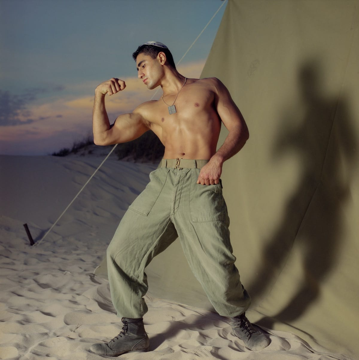 Untitled, 1996, from the Soldiers series © Adi Nes.