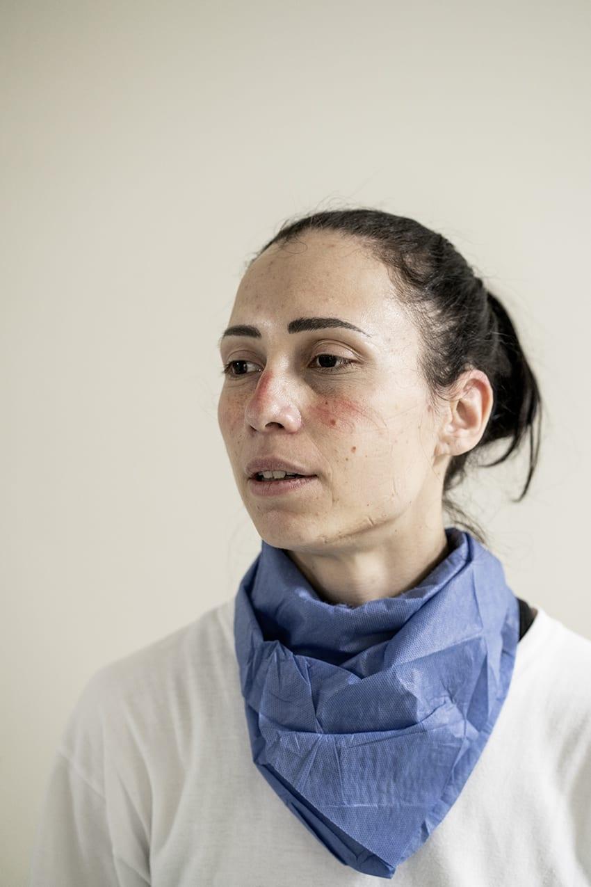 Silvia Giulianelli — a nurse in the intensive care unit © Alberto Giuliani.