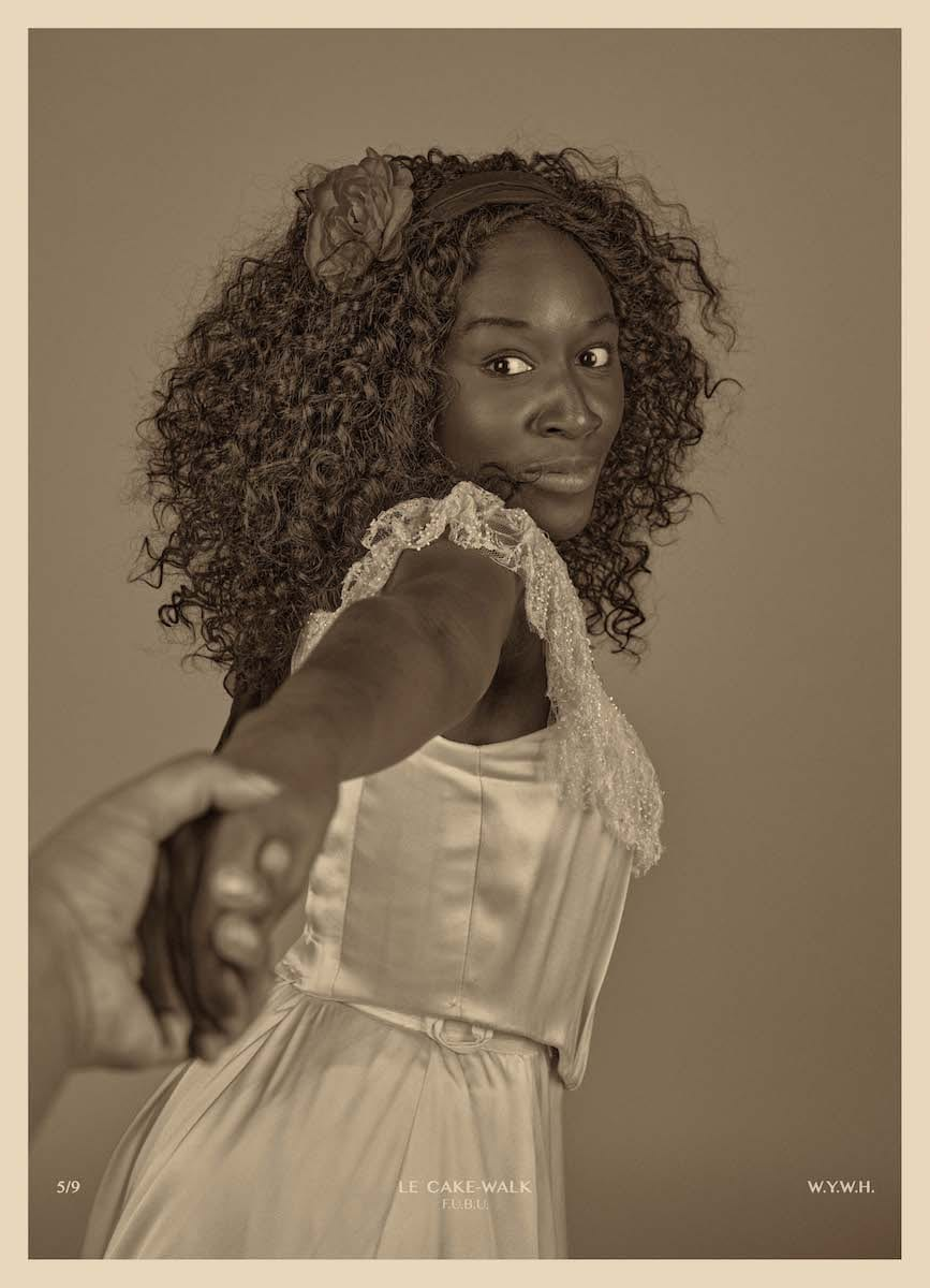 Heather AGYEPONG, Wish You Were Here (5. Le Cake-Walk_ F.U.B.U), 2020, C-Type colour print on Hahnemuhle paper, c. James Hyman