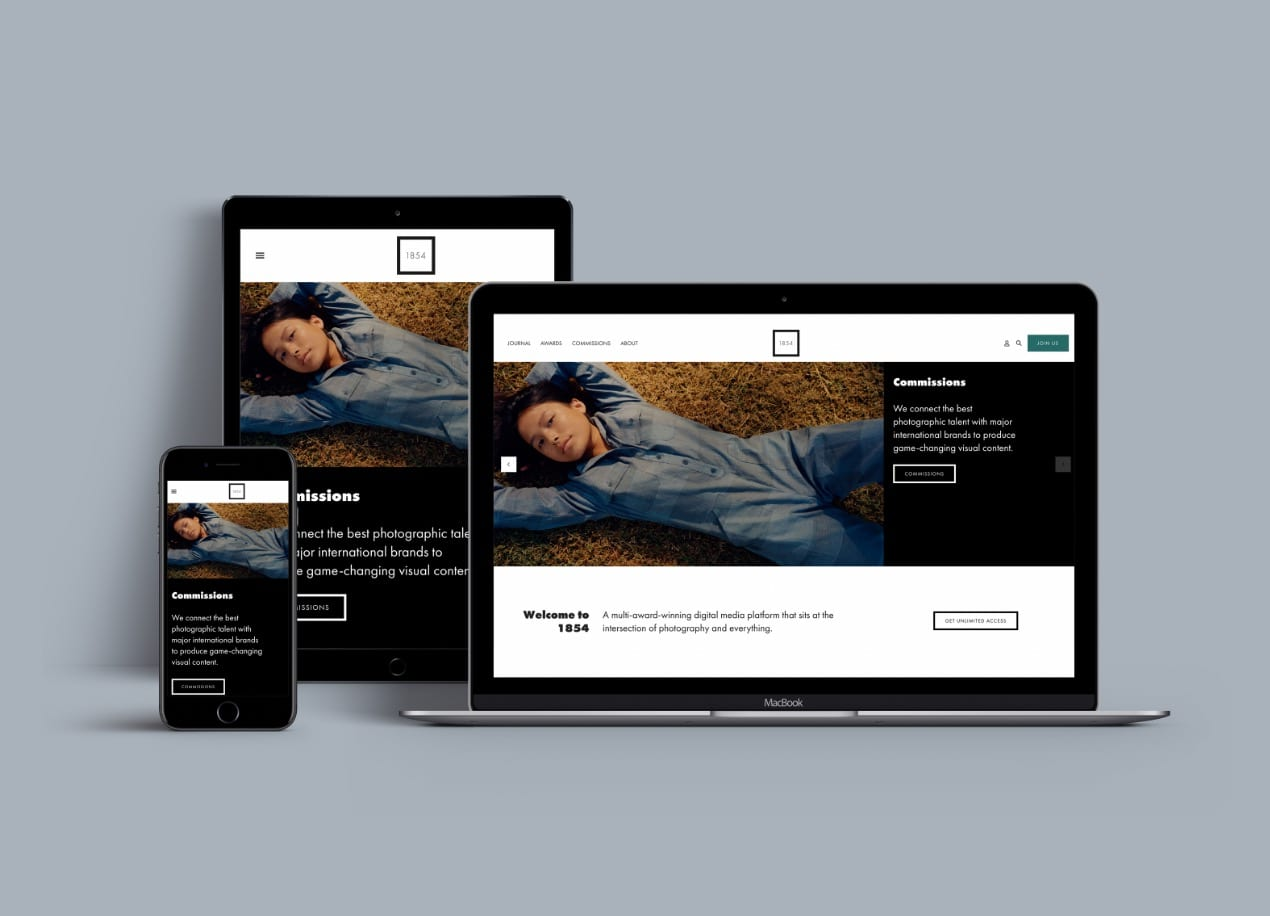 1854 Homepage Comps